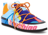 Moschino Colorblocked Low-Top Sneaker