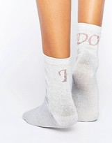 Asos Bridal Slogan Ankle Socks
