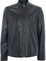 Calvin Klein Lach Leather Jacket