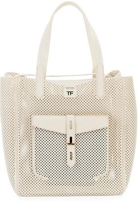 Tom Ford Perforated Medium Tote Bag