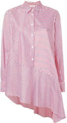 P.A.R.O.S.H. Asymmetric Striped Shirt