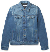 Givenchy Slim-Fit Logo-Appliquéd Denim Jacket