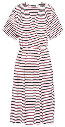 MDS Stripes Knee-length dress