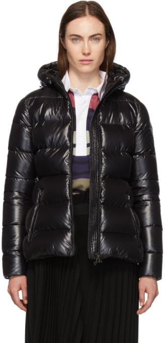 Moncler Black Down Rhin Jacket