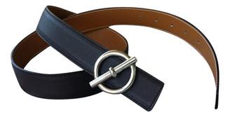 Hermes Brown Leather Belts