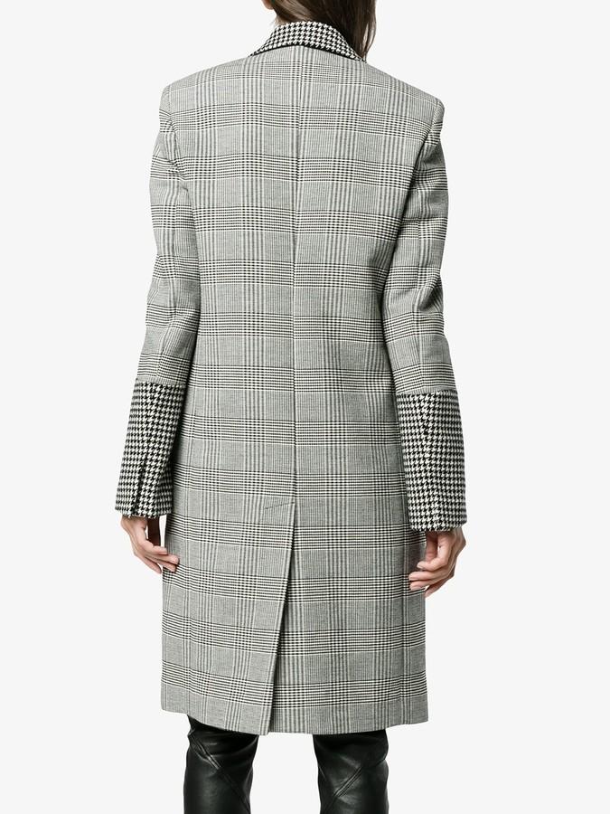 Stella McCartney Odelia check coat