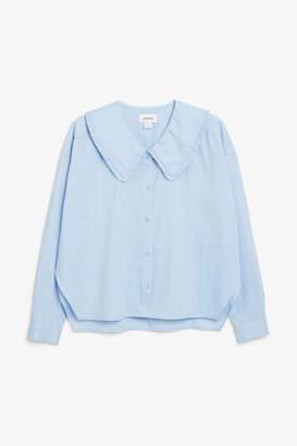 Monki Peter Pan collar blouse