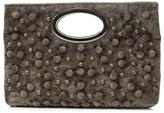 Donald J Pliner Women's PANDORA - Embellished Distressed Velvet Clutch