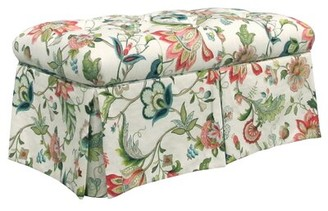 Skyline Furniture Brissac Upholstered Storage Bench