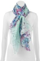 Apt. 9 Cherry Blossoms Oblong Wrap Scarf