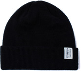 Barbour Black New Wool Beanie Hat