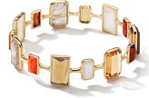 Ippolita Rock Candy Gelato 18k Multi-Stone Bangle, Orange
