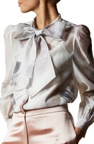 Ted Baker Mirta Tie Neck Blouse