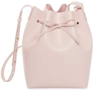 Mansur Gavriel Saffiano Bucket Bag - Rosa