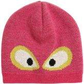 Fendi Monster Eyes Jacquard Wool Hat