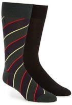 Polo Ralph Lauren 'Diagonal Sutherland' Socks (2-Pack)