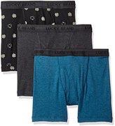 Lucky Brand Men's 3 Pk Cotton Boxer Brief