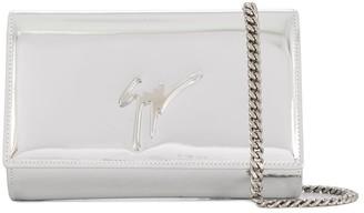 Giuseppe Zanotti Cleopatra metallic crossbody bag