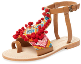 Antik Batik Sunny Beaded Toe-Loop Sandal