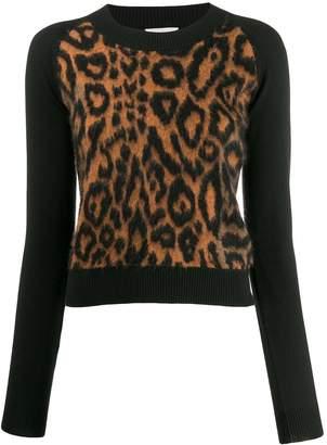 Sonia Rykiel leopard print jumper