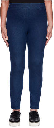 Alfred Dunner Autumn Harvest Flat Front Jeggings