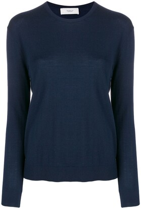 Pringle round-neck knitted jumper