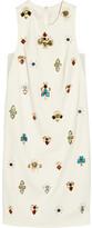 3.1 Phillip Lim Embellished crepe dress