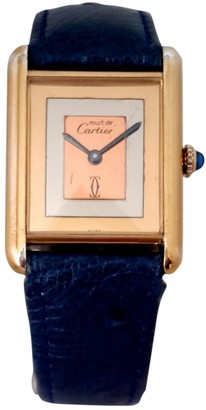 Cartier Tank Must Other Gold plated Watches