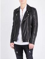 Balmain Blouson leather biker jacket