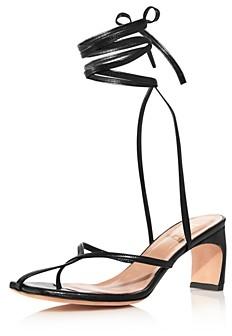 Elleme Women's Ficelle Slip On Strappy High-Heel Sandals
