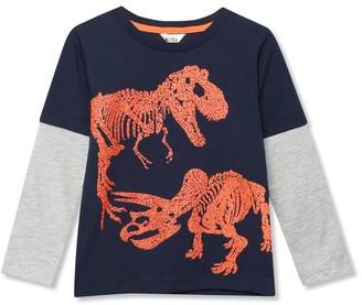 M&Co Textured dinosaur t-shirt (3-12yrs)