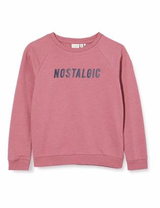 Name It Girl's Nkfveda Ls SWE Unb Sweatshirt