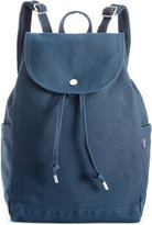 Baggu Cotton Drawstring Backpack