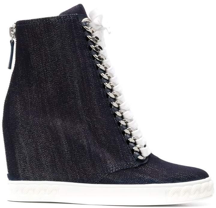 2b8ee45c18 Denim Wedge Shoes - ShopStyle