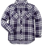 Rails Little Girls' Kenny Button Down Plaid Shirt - Sizes 4-12