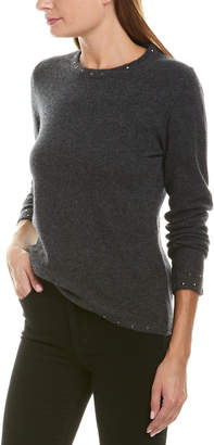 Qi Studded Cashmere Sweater