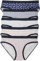 M&Co Heart and stripe briefs five pack