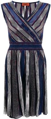 Missoni Wrap-Over Print Dress