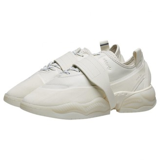adidas White Rubber Trainers