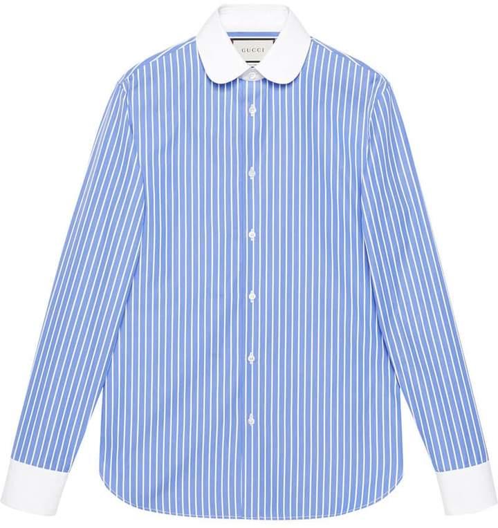 Gucci Striped cotton shirt