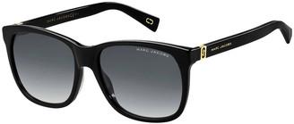 Marc Jacobs Square Gradient Sunglasses