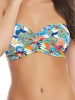 Freya Womens Island Girl Twist Bandeau Bikini Top