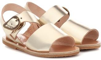 Ancient Greek Sandals Kids Little Kaliroi leather sandals