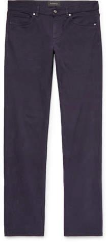 Ermenegildo Zegna Slim-Fit Stretch-Denim Jeans - Men - Midnight blue
