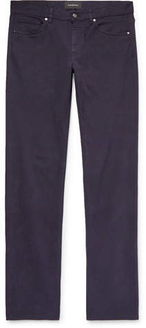 Ermenegildo Zegna Slim-Fit Stretch-Denim Jeans - Midnight blue