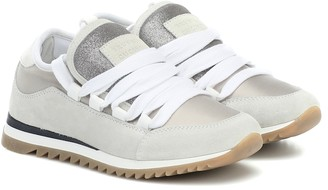 BRUNELLO CUCINELLI KIDS Suede sneakers