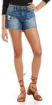 Joe's Jeans Ozzie Cut-Off Fray Hem Denim Shorts