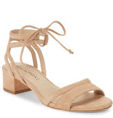 Via Spiga Taryn Suede Lace-Up Sandals