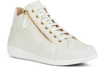 Geox Myria 93 Chevron-Pattern Fashion Sneakers