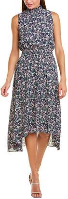 Nanette Lepore Nanette By Smocked Midi Dress